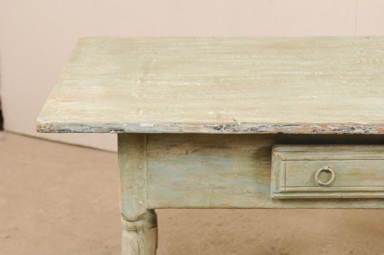 Early 20th Century Antique Swedish Farm-House Table In Good Condition For Sale In Atlanta, GA