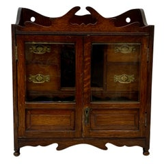 Early 20th Century Antique Tobacco Cabinet, c.1920