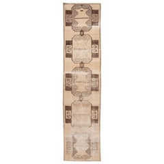 Early 20th Century Antique Turkish Wool Runner