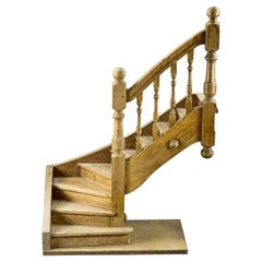 Early 20th Century Architects Model Staircase