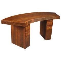 Early 20th Century Art Deco Palmwood Writing Desk