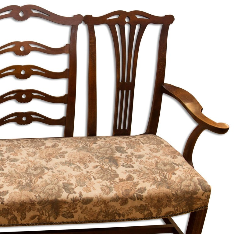 Adolf Loos, Early 20th Century Secessionist Bench in Oak For Sale 2