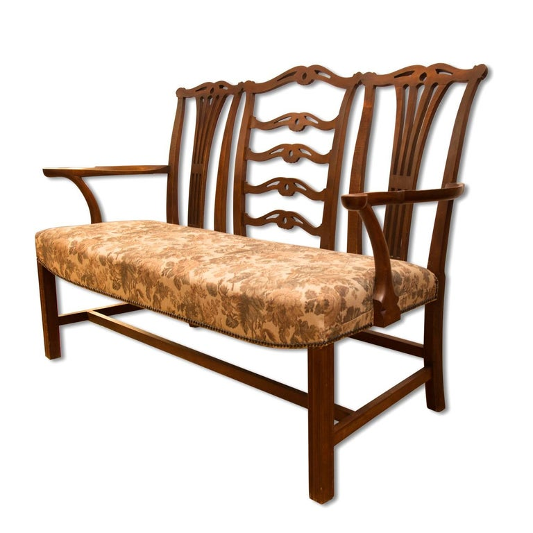 Adolf Loos, Early 20th Century Secessionist Bench in Oak For Sale 3