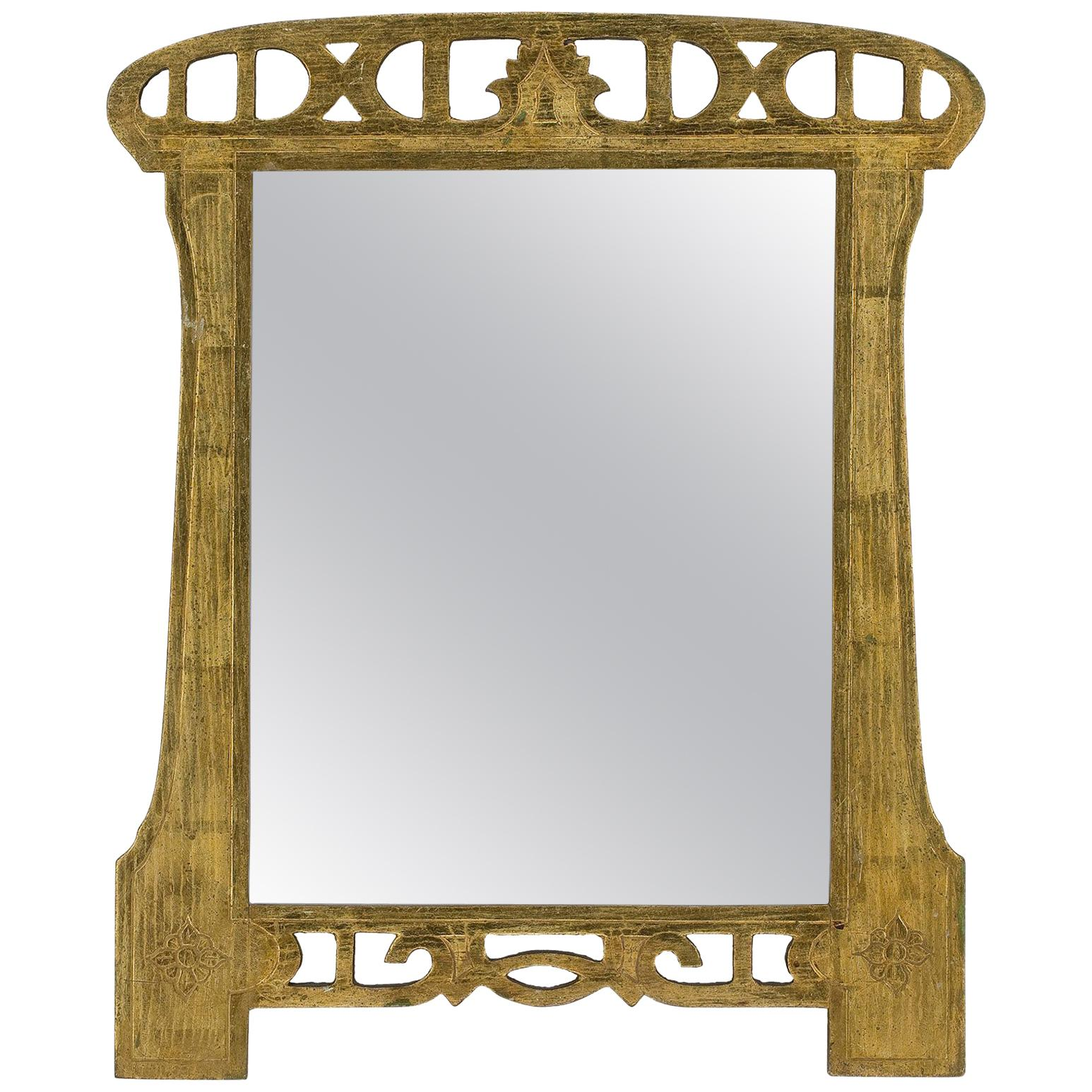Early 20th Century Art Nouveau Mirror