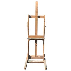 Early 20th Century Artists Easel from Paris, circa 1940