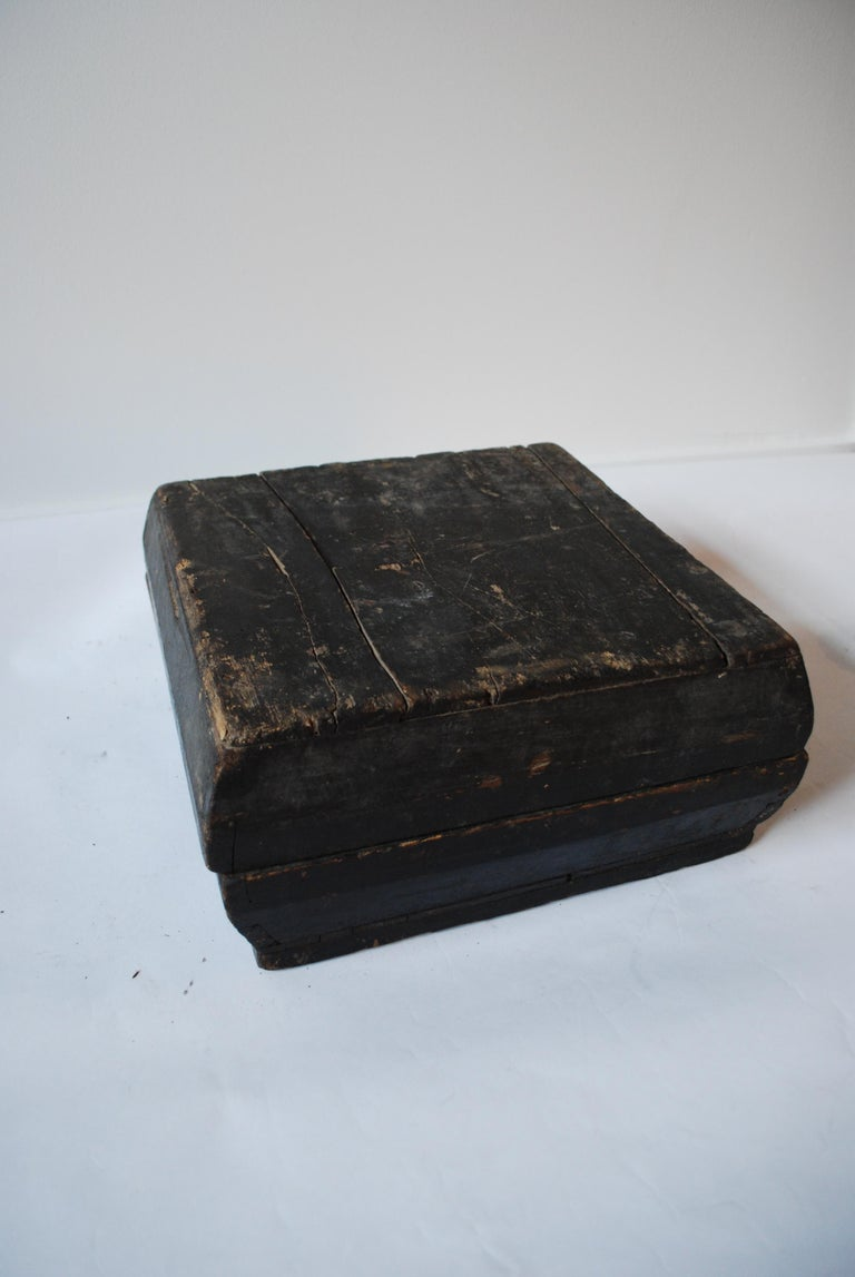 Early 20th Century Asian Covered Food Boxes Set of Six For Sale 1