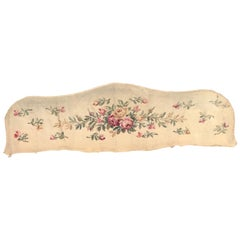 Early 20th Century Aubusson Bed Tapestry