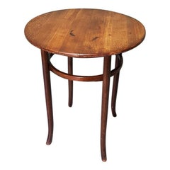 Early 20th Century Beech Wooden Thonet Style Table