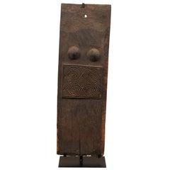 "Early 20th Century Belu ""Female"" Door from Timor Island"