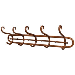 Early 20th Century Bentwood Coat Hooks