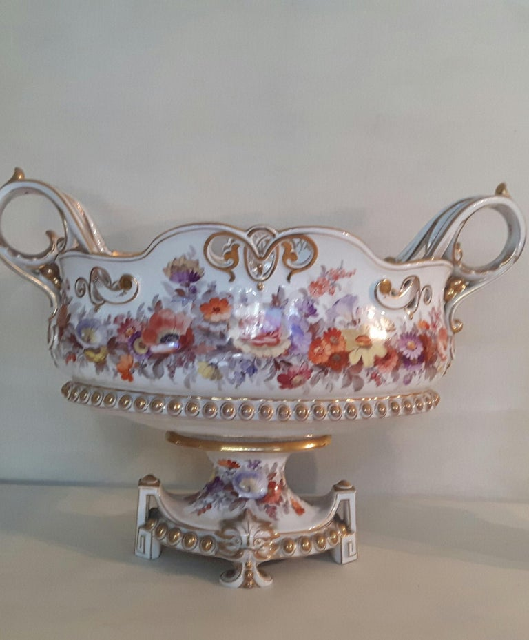 Porcelain Early 20th Century Berlin Center Piece For Sale