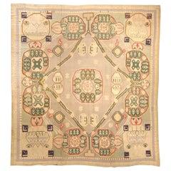 Early 20th Century Bessarabian Handmade Rug
