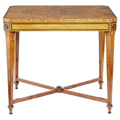 Early 20th Century Birch Occasional Table by David Blomberg