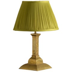 Early 20th Century Brass Table Lamp