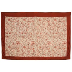 Early 20th Century British Jacobean Embroidered Wall Hanging