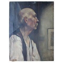 Early 20th Century British School Portrait of a Gentleman, circa 1915-1925