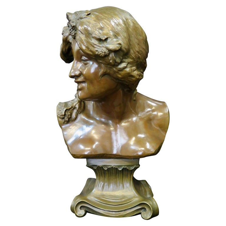 Early 20th Century Bronze by J. Rispal For Sale