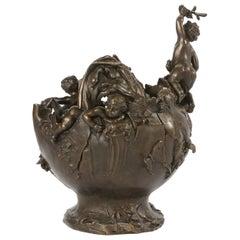 Early 20th Century Bronze Decorative Centerpiece
