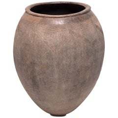 Early 20th Century Burkinabe Storage Vessel