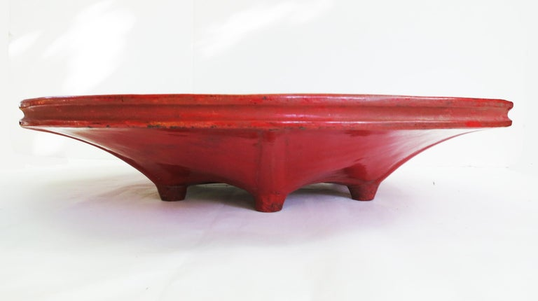 "Burmese (Myanmar) Lacquerware has a long tradition dating back to the 13th century. Lacquer in Burma is called ""Thitsi"" meaning the sap of a Thitsi Tree (Melanhorrea Usitata). Typically, bamboo and wood are used as a frame or base in making lacquer"