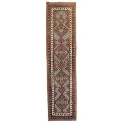 Early 20th Century Camel Tribal Persian Serab Runner