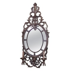 Early 20th Century Carved Giltwood Mirror