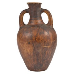 Early 20th Century Catalonian Extra Large 'Tramostera' Terracotta Jar