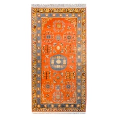 Early 20th Century Central Asian Khotan Rug