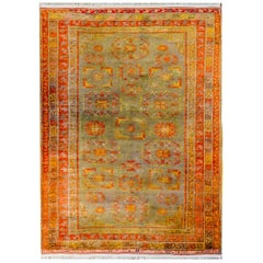 Early 20th Century Central Asian Samarghand Rug