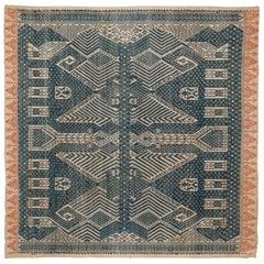 Early 20th Century Ceremonial Cloth / Tampan, South Sumatra, Indonesia