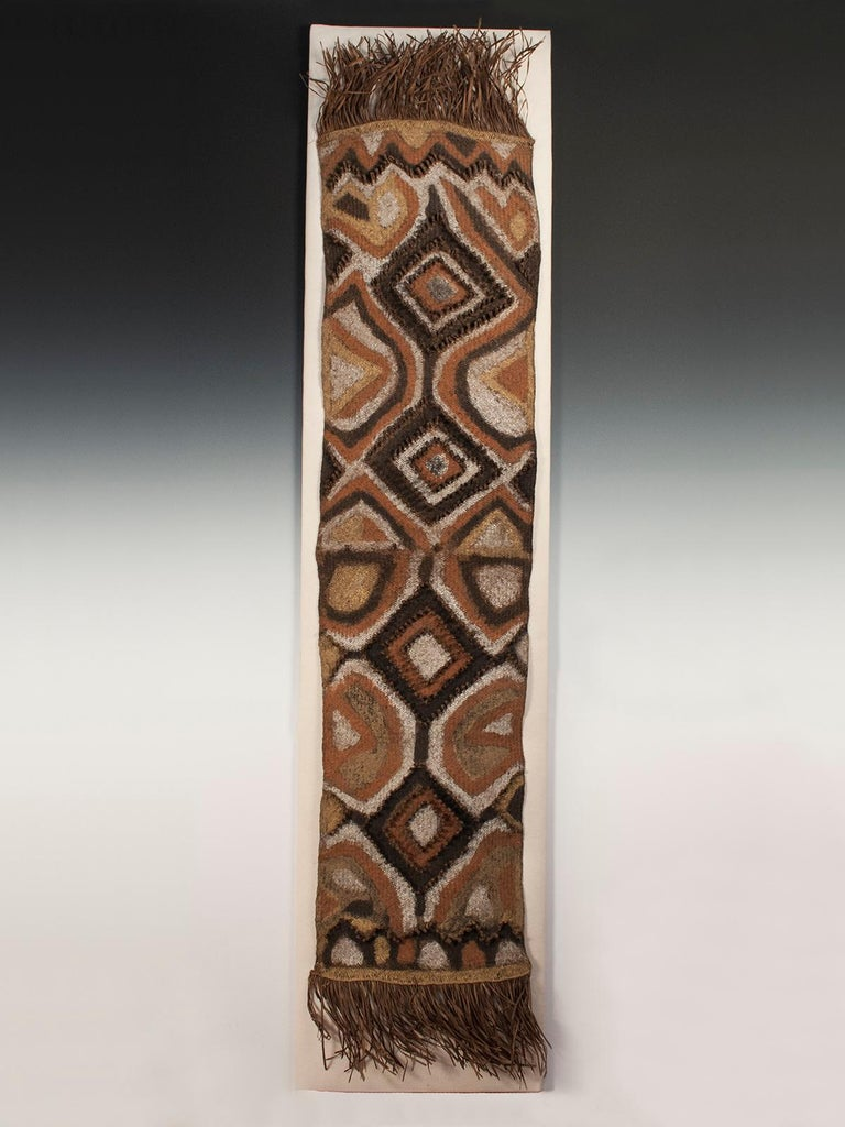Hand-Woven Early 20th Century Ceremonial Tribal Woman's Rain Hood, Papua New Guinea For Sale