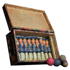 Early-20th Century Childs Hand Crafted Skittles