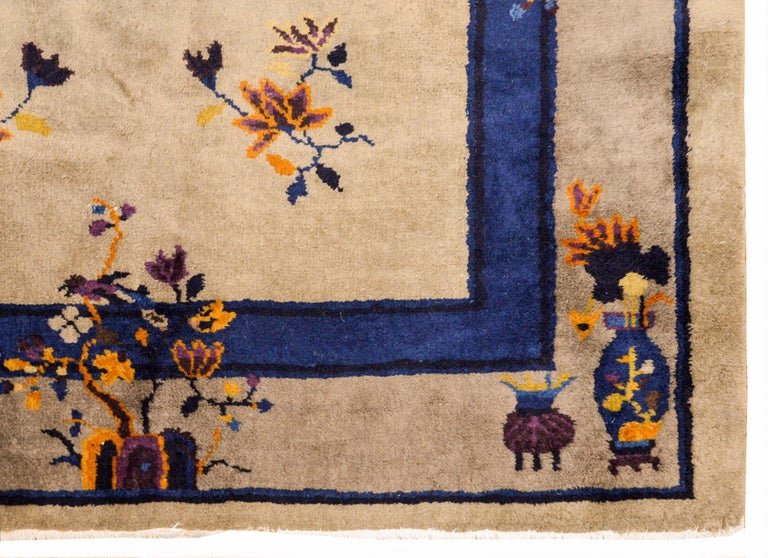Early 20th Century Chinese Art Deco Rug For Sale 5
