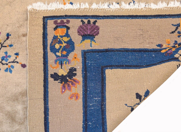 Early 20th Century Chinese Art Deco Rug For Sale 6