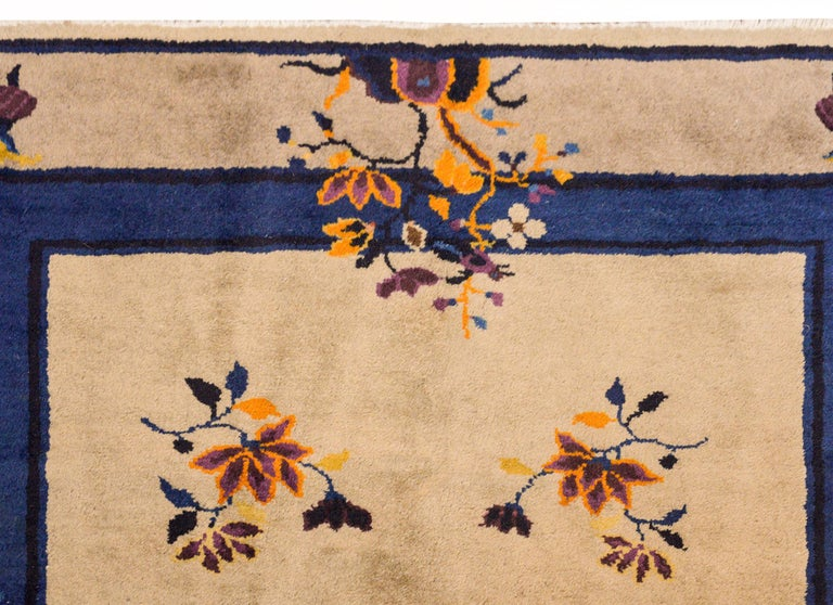 Early 20th Century Chinese Art Deco Rug For Sale 1