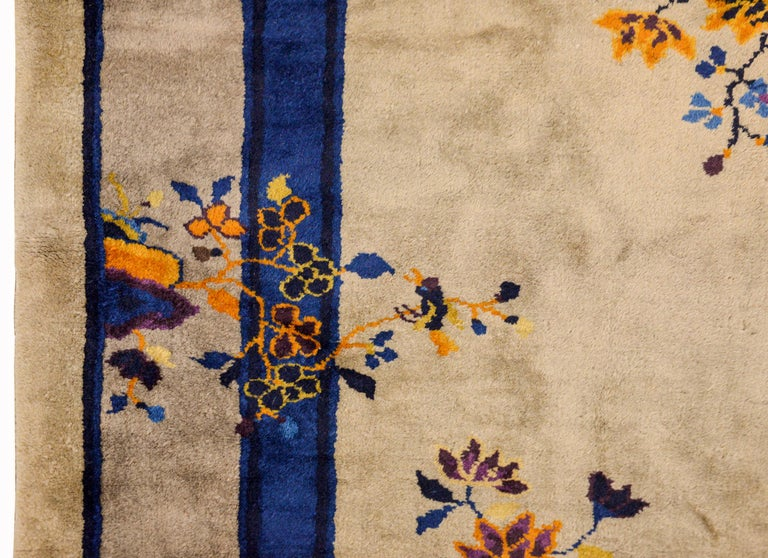 Early 20th Century Chinese Art Deco Rug For Sale 2