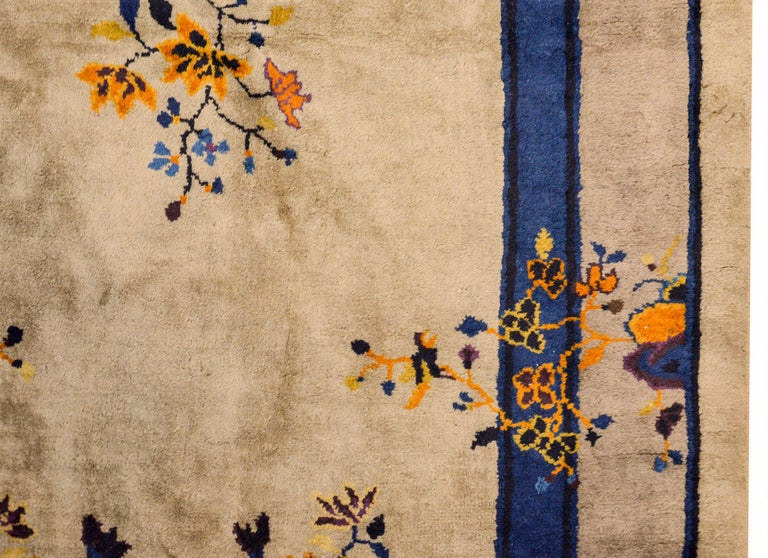 Early 20th Century Chinese Art Deco Rug For Sale 3
