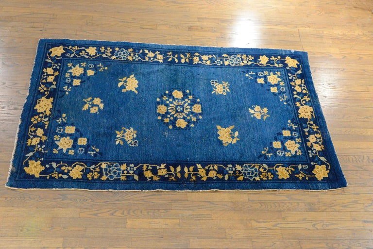 Early 20th Century Chinese Art Deco Rug For Sale 4