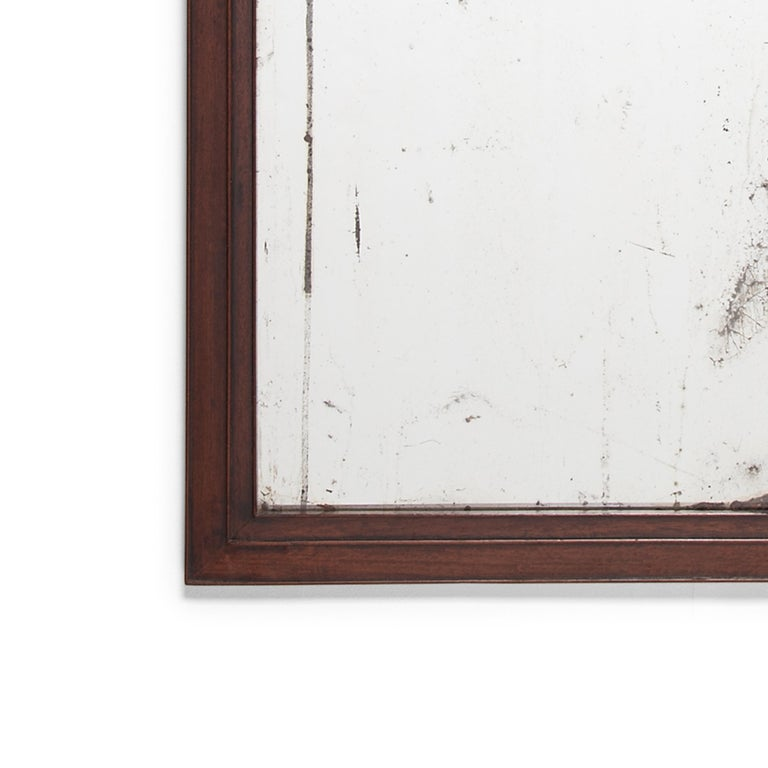 Early 20th Century Chinese Calligrapher's Frame with Mirror In Good Condition For Sale In Chicago, IL