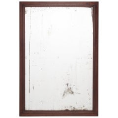 Early 20th Century Chinese Calligrapher's Frame with Mirror