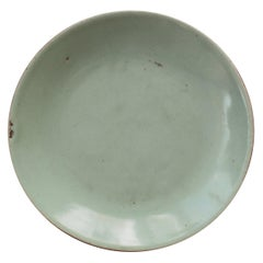 Early 20th Century Chinese Celadon Plate