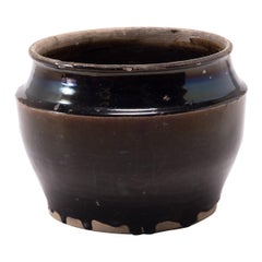 Early 20th Century Chinese Drip Glaze Pickling Basin