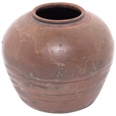 Early 20th Century Chinese Drip Glaze Vessel