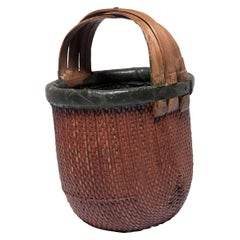 Early 20th Century Chinese Fisherman's Basket