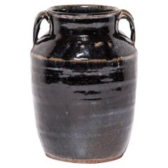 Chinese Glazed Soy Vessel, c. 1900