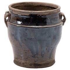 Early 20th Century Chinese Glazed Vinegar Jar