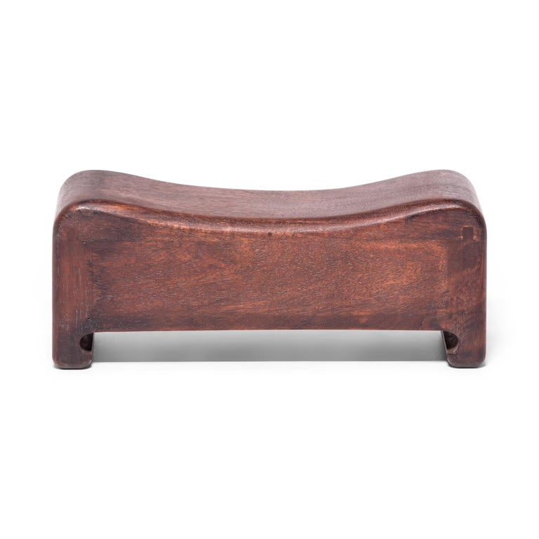 Qing Early 20th Century Chinese Keepsake Headrest For Sale