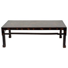 Early 20th Century Chinese Lacquer Coffee Table, from France