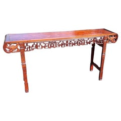 Early 20th Century Chinese Long Altar Table