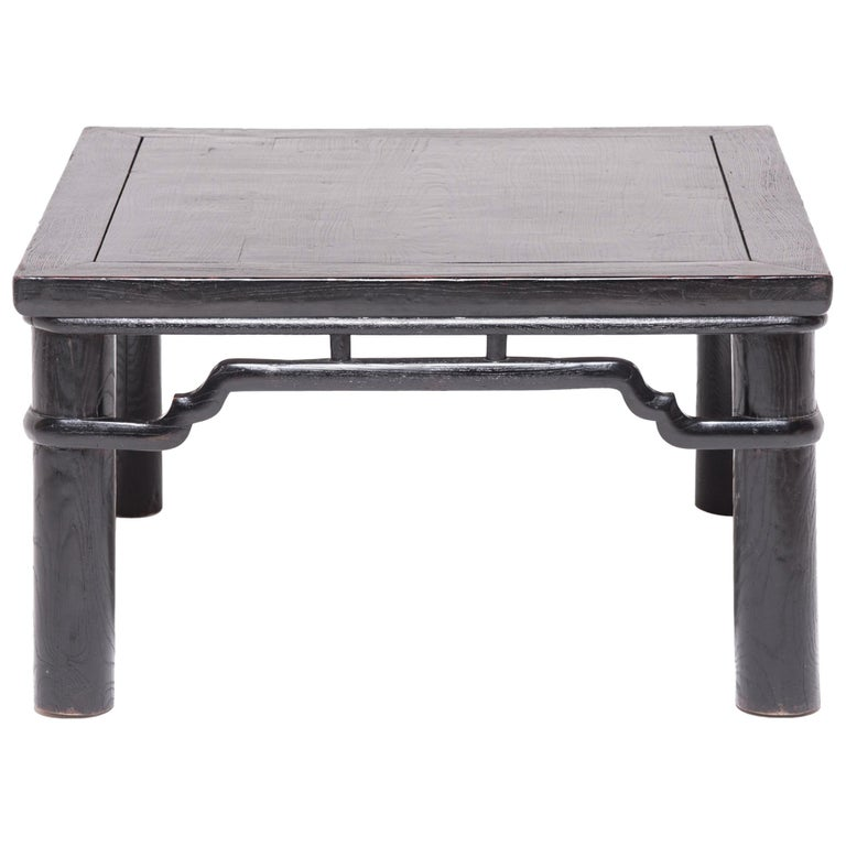 Early 20th Century Chinese Low Square Table For Sale